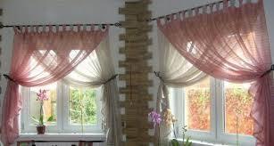 Beautiful Sheer Curtain Designs Ideas Pink White Curtains