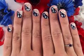 Fourth Of July Nail Art That Puts The Stars In The 'Spangled ...