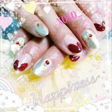 バレンタインに向けてのネイルデザイン 春夏秋冬ネイル画像ブログ