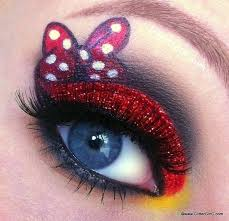 this makeup look is inspired by minnie mouse free tutorial with pictures on how