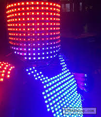 Light Solutions Etere Repin This Idea Of A Custom Made Led Light Up Costume