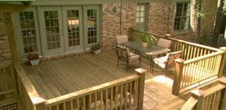 a deck patio or outdoor kitchen