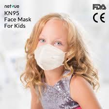 <b>20pcs</b> FDA/CE Certified <b>KN95</b> Mask for <b>Kids</b> (age 5-12) - Netvue