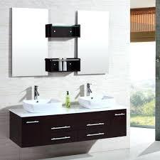 Houzz Bathrooms Vanities Design Stunning Floating Wall Mount Double Sink  Bathroom Vanity Set Small With Wallpaper High Definition Id