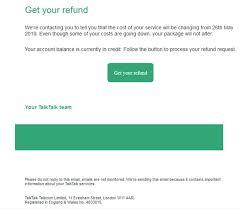 Scam Of The Week Warning Over Fake Talktalk Phishing Emails