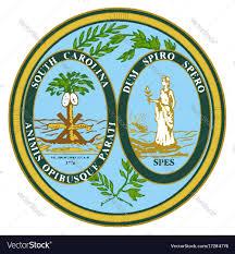 Image Royalty Vector Seal South State Free Carolina