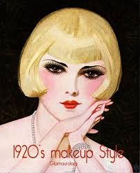 1920s flapper makeup style12