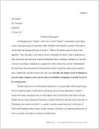 Writing An Essay In Mla Format Mla Format Title Of Essay Essay Format What Is Format Essay How