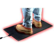 super foot warmer heated rubber floor mat