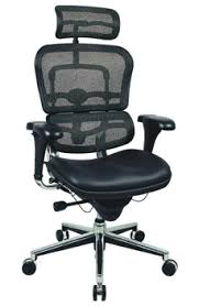 E Ergohuman LEM4ERG Mesh Back Chair