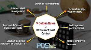 9 Golden Rules Of Restaurant Cost Control The Restaurant Times