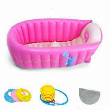 summer baby swimming pool kids portable inflatable tub 0 3 age baby bath tub thickening folding