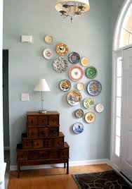 Great Like This Idea, Maybe I Can Actually Buy Those Onesie Twosie Plates That  Seem Lo Lonely. Plate Wall Decor   I Did This In My Dining Room. Awesome Ideas