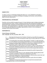 Basic Resume Objective Examples Examples Of Resumes