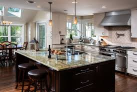 traditional open kitchen designs. Home Renovation Ideas In Kitchen And Dining Space With Open Flooring Style Using Wooden Floor Traditional Designs