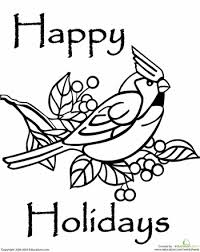 Small Picture Happy Holidays Coloring Page Holidays Quilling and Quilling
