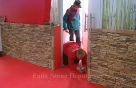 commercial of faux stone