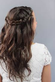 Practical Hairstyles For Moms How To Braided Wedding Hair For Beginners A Practical Wedding A