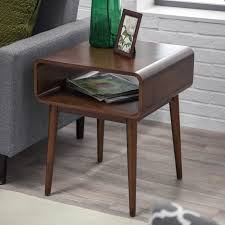 belham living carter mid century modern side table  hayneedle