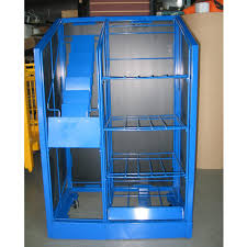 Newspaper rack 1 Mini Trader Newspaper Rack Blue Finish181 Stlfinder Trader Newspaper Rack Blue Finish Apple Display Products Ltd