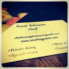 Chef Nona Johnson - Home | Facebook
