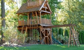 Wooden Treehouse Accessories For Kids