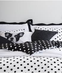 com black and white polka dot duvet quilt cover 2pc set twin 100 cotton reversible