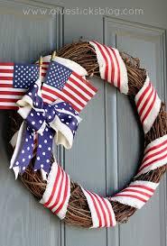 patriotic wreaths for front doorOld Glory Patriotic Wreath  Gluesticks