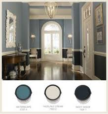 image result for chair rail two tone paint colors
