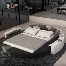 interior design. Round Bed ...