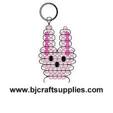 Beaded Keychain Patterns Enchanting Beaded Rabbit Key Chain