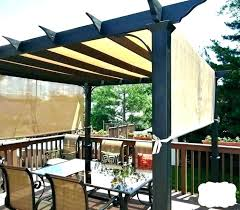 deck shade sail patio outdoor sails home depot structures brilliant backyard ideas outdoor shade structures