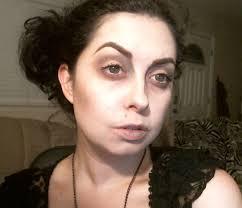 everyday dead makeup tutorial