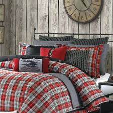 red plaid quilt nice plaid comforter set ideas to choose with regard checd sets remodel