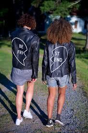 best friends leather jacket