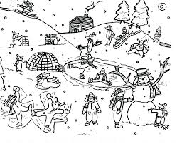 Christian Colouring Pages Printables Sheets Worksheets Snow Coloring