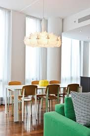 flos lighting nyc. the flos zeppelin pendant light fits seamlessly into this sunlit interior with hardwood floors and a flos lighting nyc