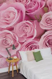 Pink Flower Wallpaper For Bedrooms 17 Best Images About Floral Wallpaper Murals On Pinterest Flower