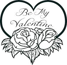 Valentines Coloring Sheets Printable Uticureinfo