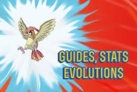 Pokemon Lets Go Pidgeotto Guide Stats Locations
