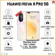 BKM Tech - Huawei Nova 8 Pro 5G ...
