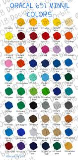 Oracal Vinyl Color Chart Pdf Oracal Vinyl Color Chart Inspirational Color Chart File For