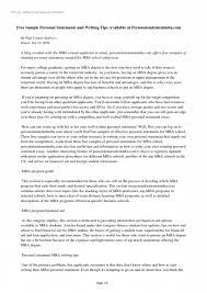 12 Sample Grad School Personal Statements Proposal Resume