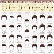 面のさまざまな種類の男性のヘアスタイルのセット