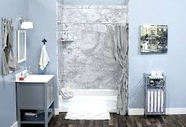 flex stone shower flexstone shower wall installation