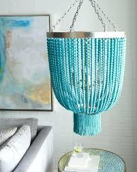 turquoise beaded chandelier beaded chandelier turquoise wood chandelier small blue light beads six by turquoise beaded chandelier by marjorie skouras