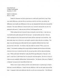 death of a sman movie vs book essay zoom zoom
