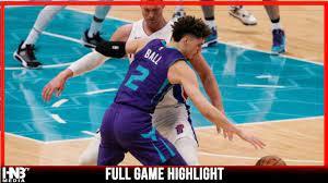 Charlotte Hornets vs Detroit Pistons 3 ...