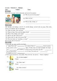 105學年度康軒英語b1 lesson 2 worksheet 學用