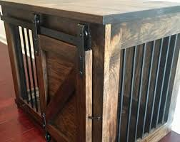wooden dog crate furniture. Wooden Dog Kennel, Furniture Crate
